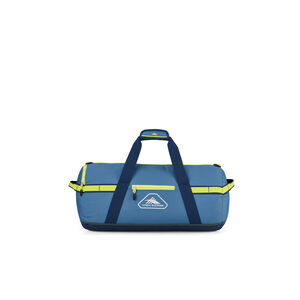 """Packed Cargo Duffles 20"""" X-Small Duffel in the color Graphite Blue/Rustic Blue/Glow."""