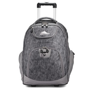 Powerglide Wheeled Backpack in the color Fabric Tex/Slate.