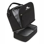 High Sierra Stacked Compartment in the color Black.