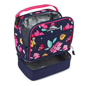 Stacked Compartment Lunch Bag in the color Bloom.