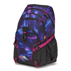 High Sierra Loop Backpack in the color Cosmos/Black/Razzmatazz.
