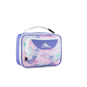 High Sierra Lunch Packs Single Compartment in the color Delicate Lace/Lavender/White.