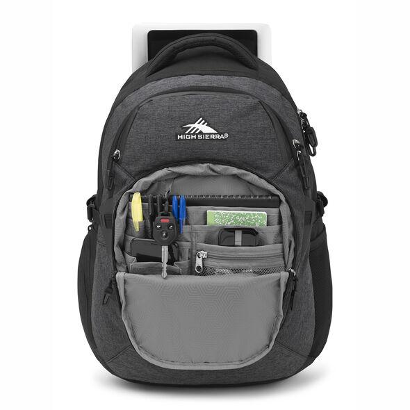 High Sierra Jarvis Backpack in the color Black.