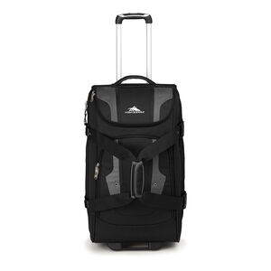 "Adventure Access 26"" Wheeled Duffel in the color Black/Charcoal."