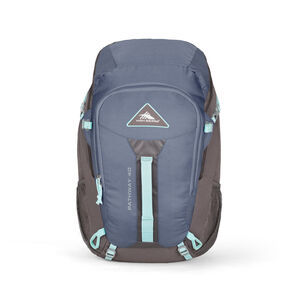 High Sierra Pathway 40L Pack in the color Grey Blue/Mercury/Blue Haze.