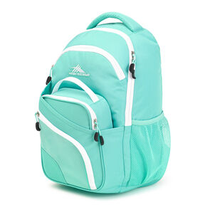 High Sierra Wiggie Lunch Kit Backpack in the color Aquamarine/White.