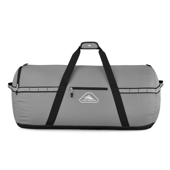 """High Sierra Packed Cargo Duffles 36"""" Large Duffel in the color Charcoal/Black."""