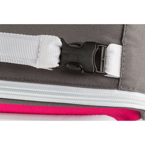 High Sierra Lunch Packs Single Compartment in the color Flamingo Pink.