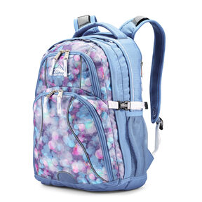 High Sierra Swerve Backpack in the color Shine Blue/Lapis/White.