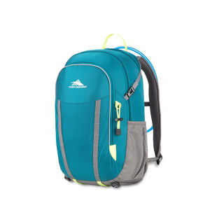 HydraHike 24L Pack in the color Lagoon/Slate/Zest.