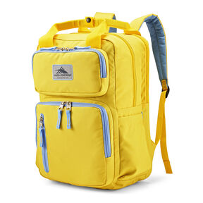 High Sierra Mindie Backpack in the color Mustard.
