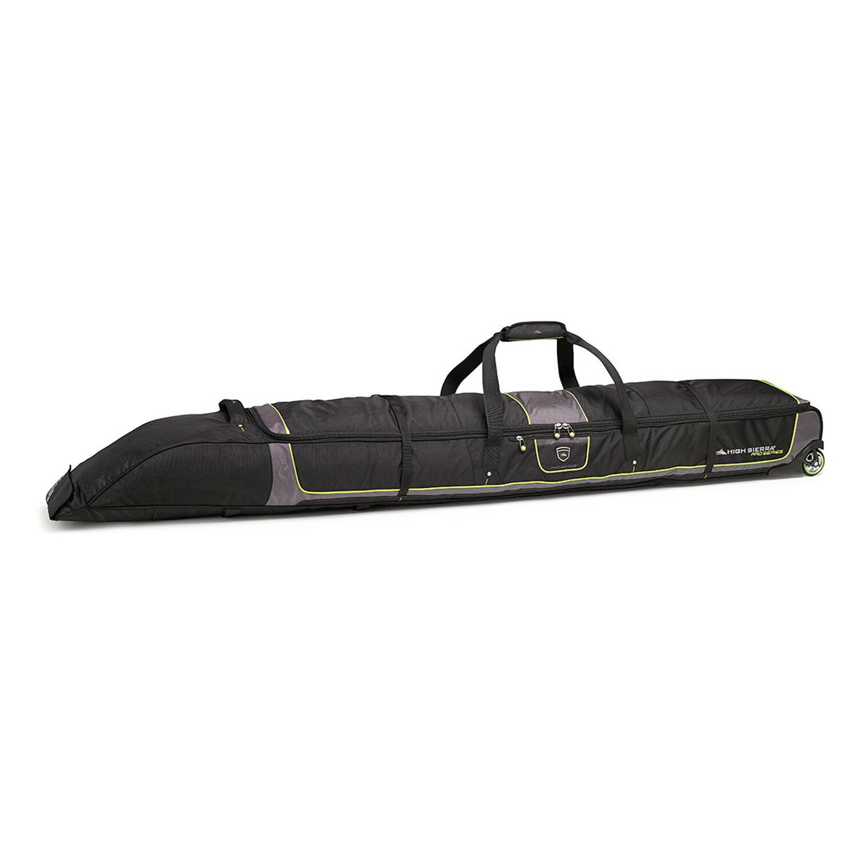 High Sierra Wheeled Double Adjustable Ski Bag