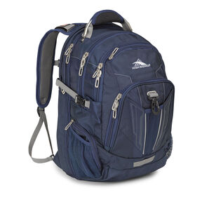 High Sierra XBT TSA Backpack in the color Navy Charcoal.
