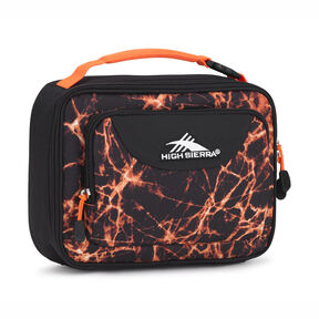 High Sierra Single Compartment in the color Fireball/Black/Electric Orange.