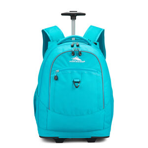 Chaser Wheeled Backpack in the color Bluebird.