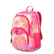 High Sierra Sumner Backpack in the color Pink Flower Daze/Paradise Pink.