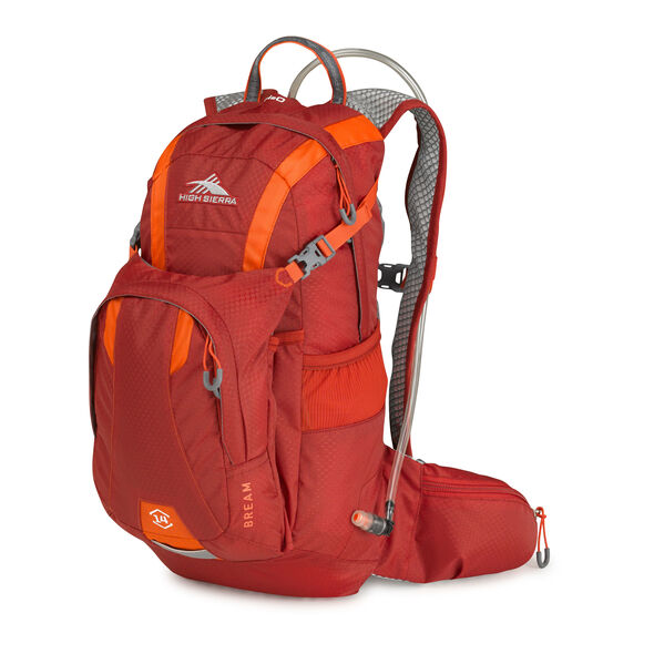 High Sierra Bream Hydration Pack in the color Carmine/Redline.