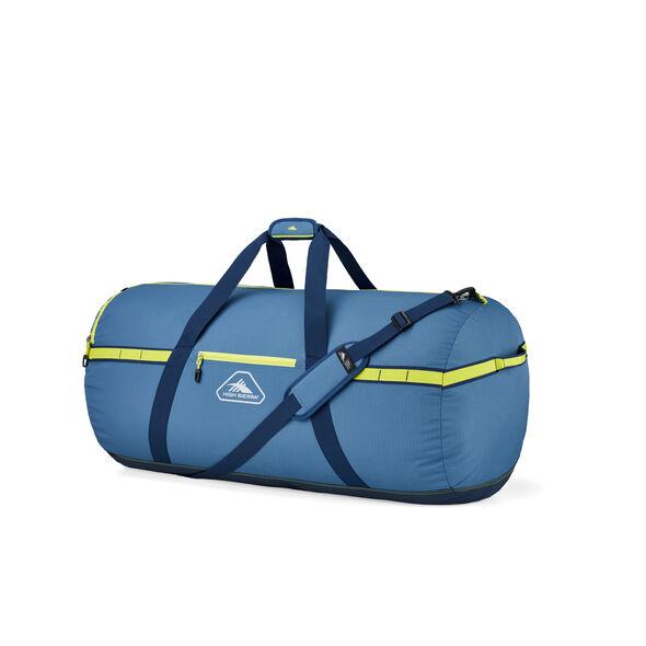 "High Sierra Packed Cargo Duffles 30"" Medium Duffel in the color Graphite Blue/Rustic Blue/Glow."