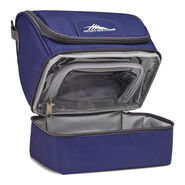 High Sierra Lunch Packs Double-Decker in the color True Navy.