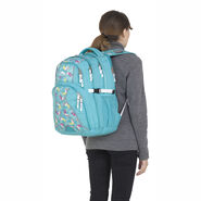 High Sierra Swerve Backpack in the color Toucan/Tropic Teal/White.