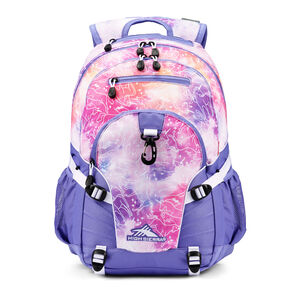 Loop Backpack in the color Unicorn Clouds/Lavender/White.