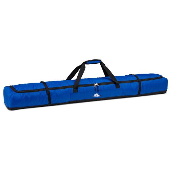 High Sierra Deluxe Single Ski Bag in the color Vivid Blue/Black.