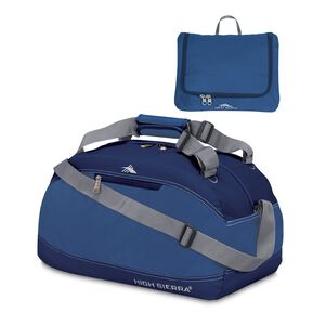 "High Sierra Pack-N-Go 20"" Duffel in the color Pacific/Blue Velvet."