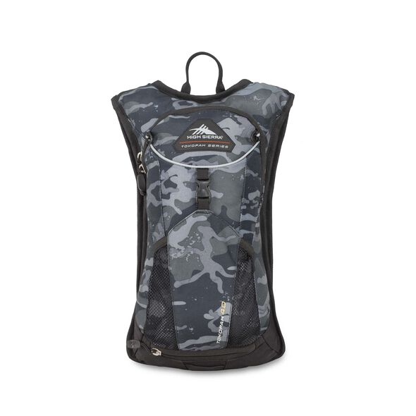 High Sierra Tokopah 4L Hydration Pack in the color Camo/Black.