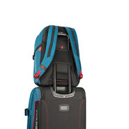 High Sierra Selway Computer Backpack in the color Peacock/Black/Crimson.