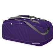 """High Sierra 36"""" Pack-N-Go Duffel in the color Deep Purple."""
