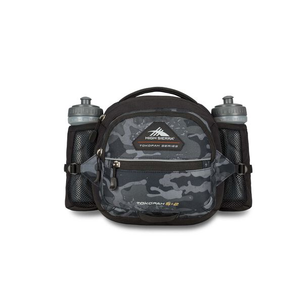 High Sierra Tokopah 5L + 2 Waistpack in the color Camo/Black.