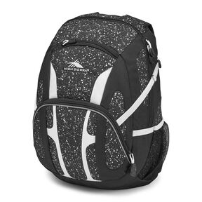 High Sierra Composite Backpack in the color Speckle/Black/White.