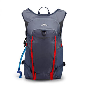 Hydrahike 2.0 16L Hydration Pack in the color Grey Blue.