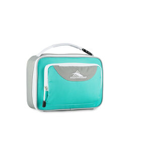 High Sierra Lunch Packs Single Compartment in the color Aquamarine/Ash/White.