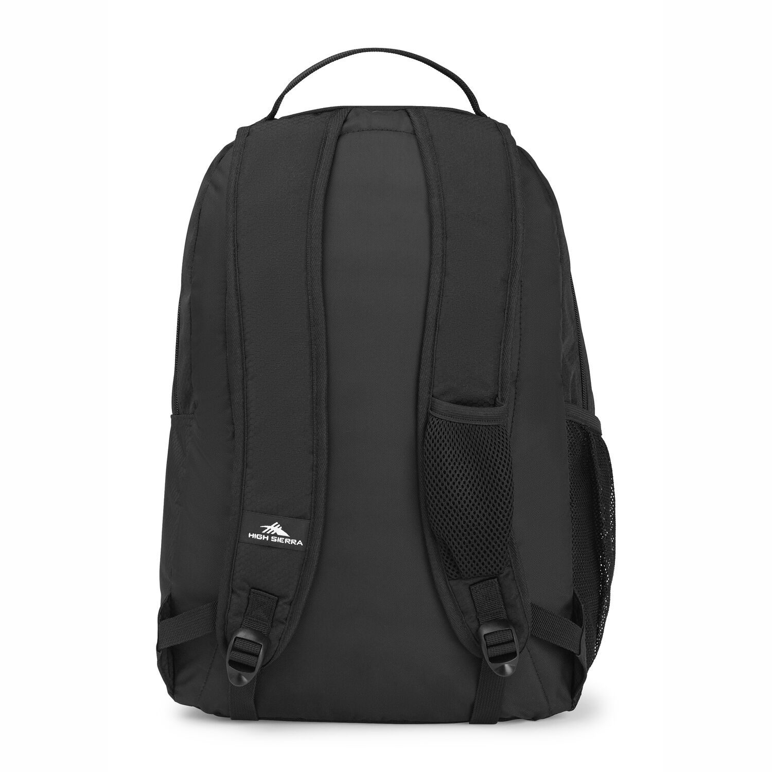 f65315f9789 High Sierra Curve Backpack in the color Black/Black.
