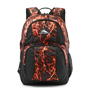 Pinova Backpack in the color Fireball/Black.