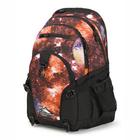 High Sierra Loop Backpack in the color Space Age/Black.