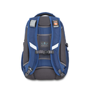 Vuna TSA Business Backpack in the color True Navy/Mercury.