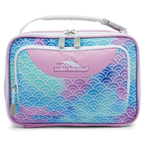 Single Compartment Lunch Bag in the color Rainbow Scales.