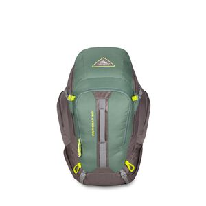 Pathway 50L Pack in the color Pine/Slate/Chartreuse.