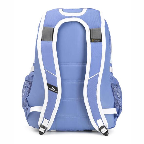High Sierra Loop Backpack in the color Lapis/White.