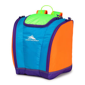 High Sierra Junior Trapezoid Boot Bag in the color Neon Colorblock.
