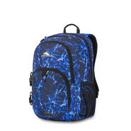 High Sierra Sumner Backpack in the color Blue Fireball/Black.