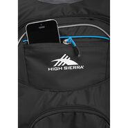 High Sierra HydraHike 16L Pack in the color Black/Slate/Pool.