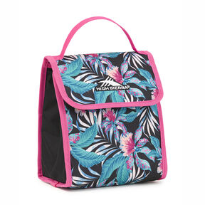 High Sierra Classic Lunch Kit in the color Tropic Nights/Black/Flamingo.