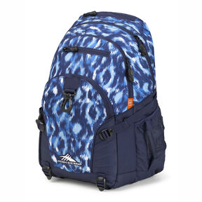 High Sierra Loop Backpack in the color Island Ikat/True Navy.