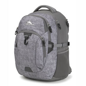 High Sierra Jarvis Backpack in the color Woolly Weave/Slate.