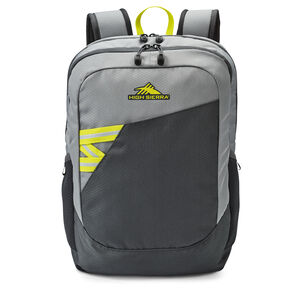High Sierra Outburst Backpack in the color Mercury/Glow.