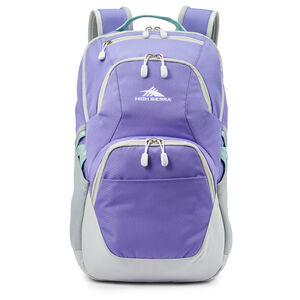 Swoop SG Backpack in the color Lavender/Silver.