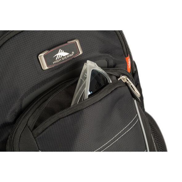 High Sierra SBT Slim Backpack in the color Black.